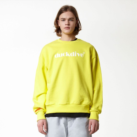 EMOTION LOGO_CREWNECK_LIGHT YELLOW