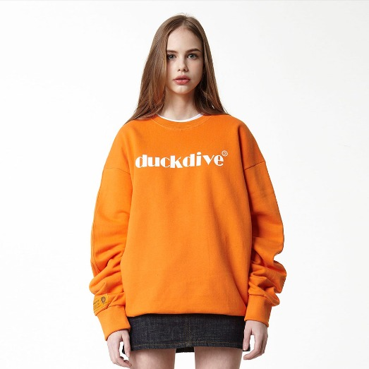 EMOTION LOGO_CREWNECK_ORANGE