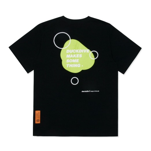 WATER DROP TEE BLACK
