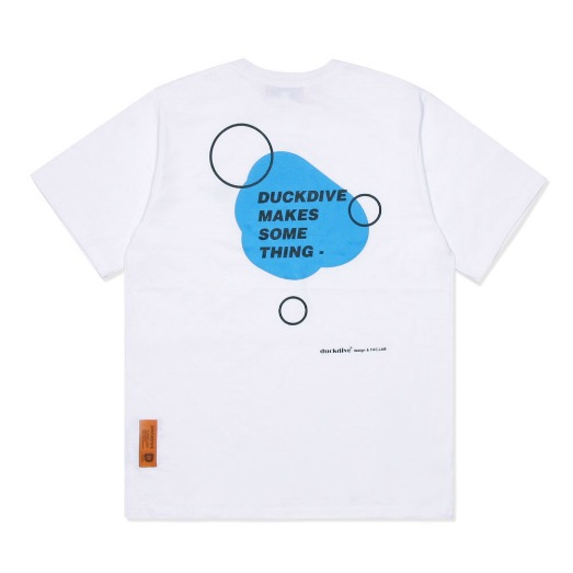 WATER DROP TEE WHITE