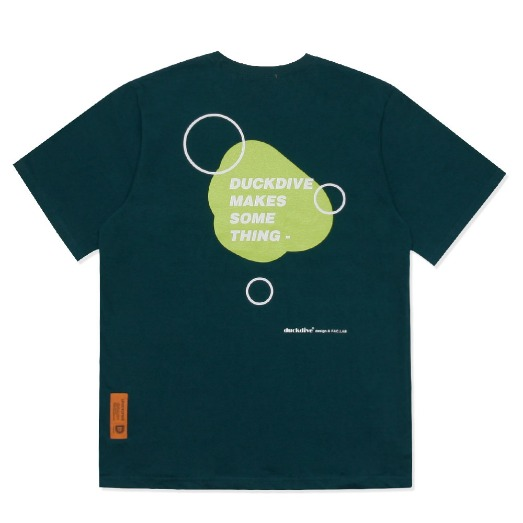WATER DROP TEE DEEP GREEN