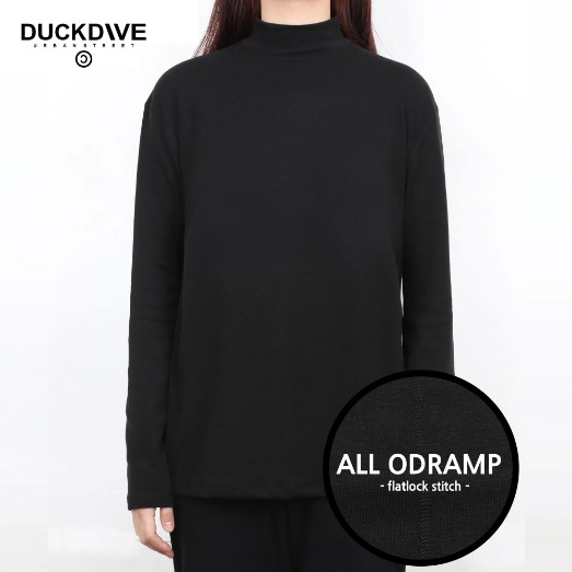 PREMIUM BASIC HALF NECK BLACK