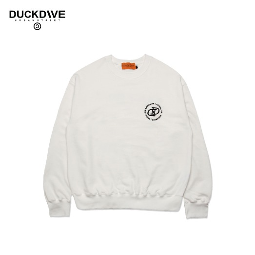 BASIC LOGO CREWNECK WHITE
