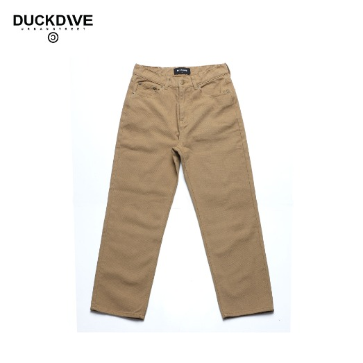 STRAIGHT COTTON PANTS BEIGE