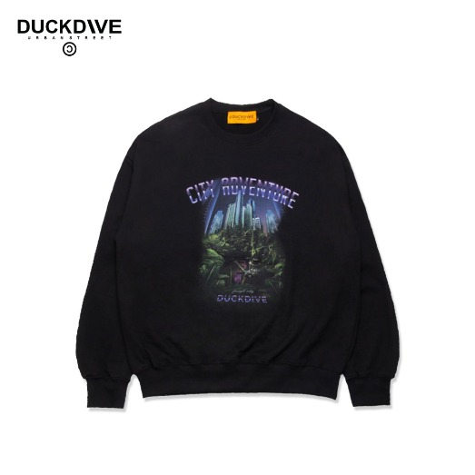 ADVENTURE CREWNECK BLACK