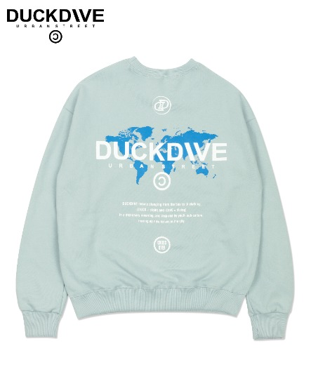 WORLD WIDE CREWNECK MINT